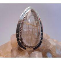 Ezüst  gyűrű RUTIL KVARC
