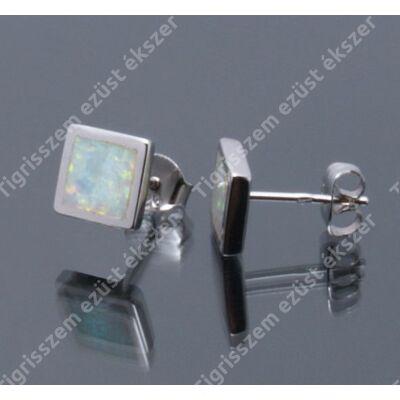 Ezüst fülsróf opál közepes 4300,-