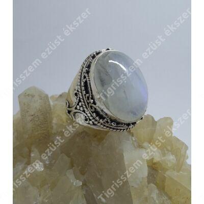Ezüst gyűrű  HOLDKŐ 57-es