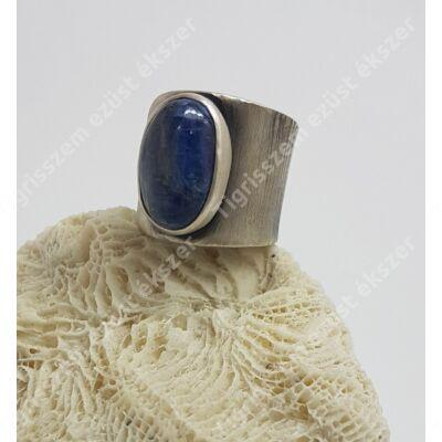 Ezüst gyűrű KIANIT kővel 58-59-es