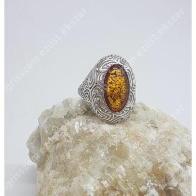 Ezüst gyűrű BOROSTYÁN 55-ös