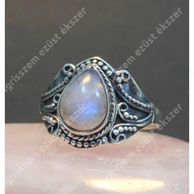 Ezüst  gyűrű VALÓDI HOLDKŐVEL