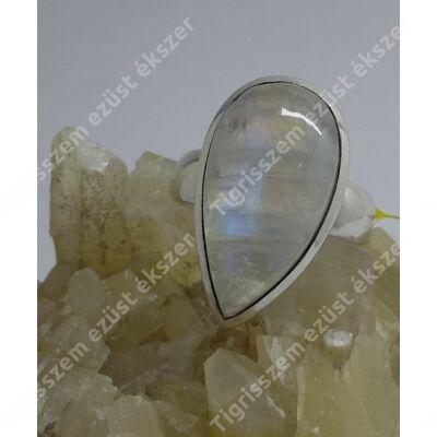Ezüst gyűrű HOLDKŐ, 55-ös
