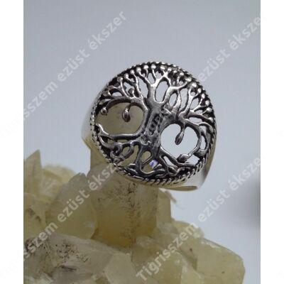 Ezüst gyűrű életfa 51-es
