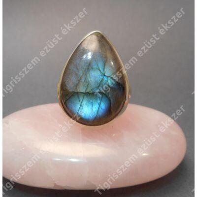 Ezüst gyűrű  LABRADORIT  kővel