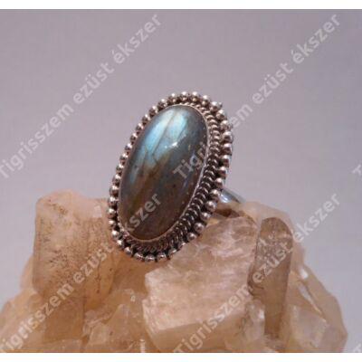 Ezüst  gyűrű LABRADORIT