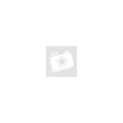 Ezüst  női gyűrű kék opállal ,kis virág és görög minta
