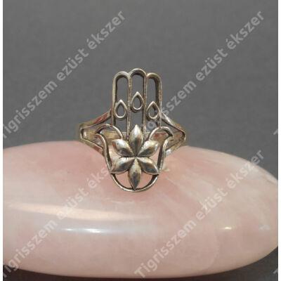 """Ezüst női  gyűrű kőnélküli   """"Fatima keze,,"""