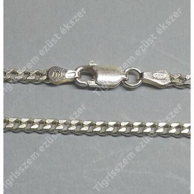 Ezüst  lánc unisex,pancer ,közepes 55 cm