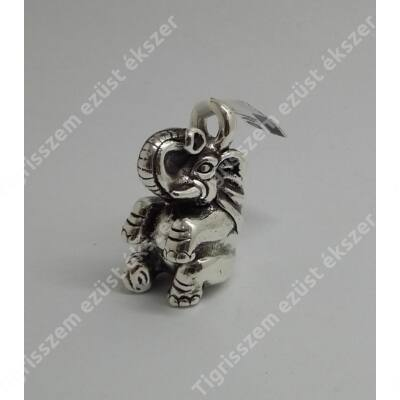 Ezüst medál nagy elefánt