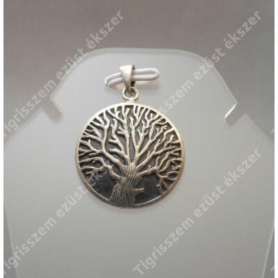 Ezüst medál,fa(tömör)