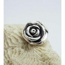 Ezüst medál,nagy rózsa
