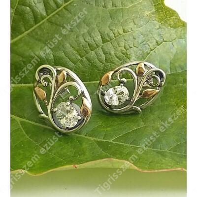 Ezüst aranyozott fülsróf