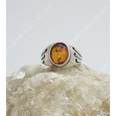 Ezüst gyűrű BOROSTYÁN 56-os