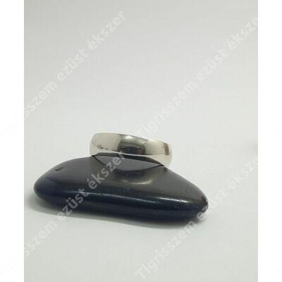 Ezüst gyűrű széles,sima karika 68-as