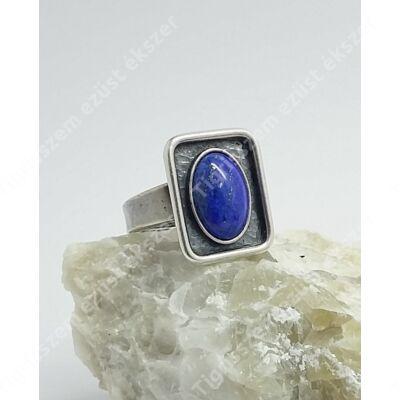 Ezüst gyűrű  LÁPISZ LAZULI  kővel