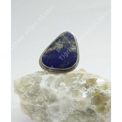 """Ezüst  gyűrű """"LÁPISZ LAZULI"""" 56-os"""