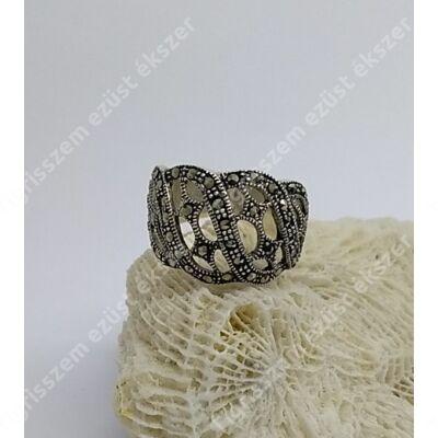 Ezüst női gyűrű MARKAZIT 54-es