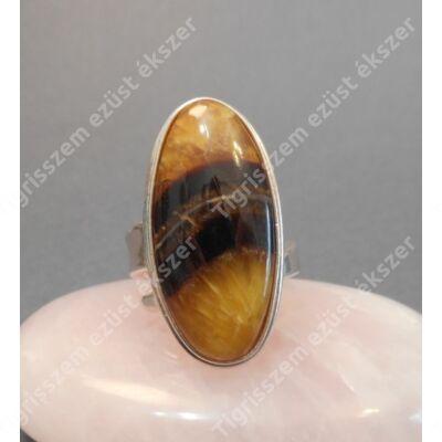 Ezüst gyűrű SIMBIRCITE nagyon ritka valódi kő.