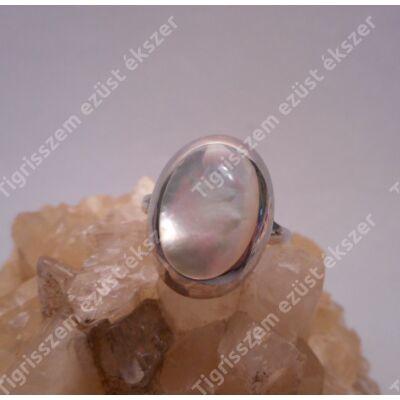 Ezüst gyűrű gyöngyház