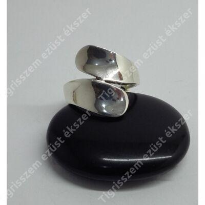 Ezüst gyűrű,sima, kő nélküli 59-es