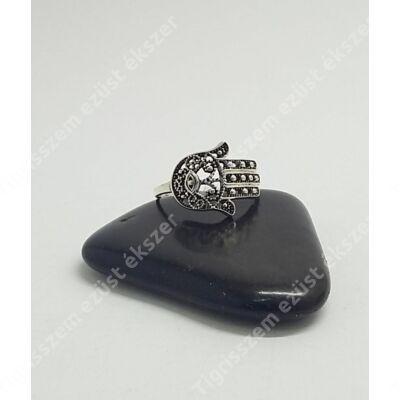 "Ezüst gyűrű""fatima keze""53-as"