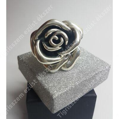 Ezüst gyűrű nagy RÓZSA 55-ös