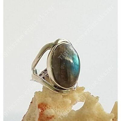 Ezüst gyűrű LABRADORIT kővel 54-es