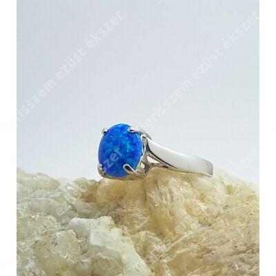 Ezüst gyűrű opállal 56-os
