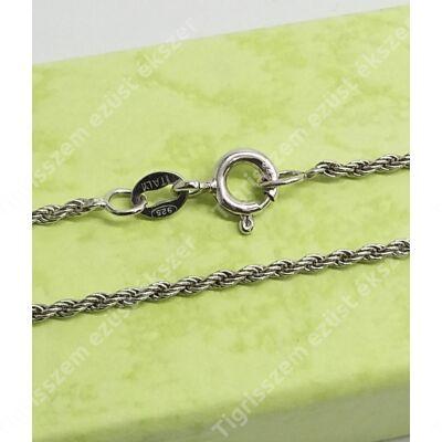 Ezüst lánc walles,ródiumos 60 cm