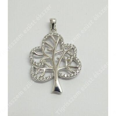 Ezüst medál,életfa